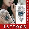 Rose Flowers Sexy Realistic Temporary Tattoo Women waterproof Body Art stickers