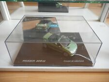 Norev Peugeot 206 CC in Green on 1:43 in Box
