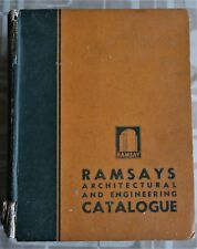 RAMSAYS ARCHITECTURAL AND ENGINEERING CATALOGUE 1952