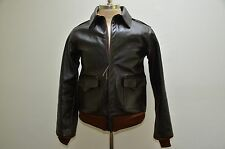 The Real Mccoy's Made in Japan Horsehide Leather A2 Flight Bomber Jacket S M 40