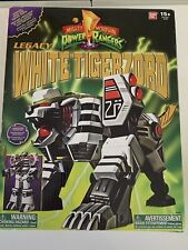 Power Rangers Legacy White Tigerzord - Great Condition - ADULT OWNER