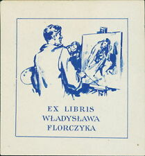 'Władysława Florczyka'  Bookplate    (JC.105)