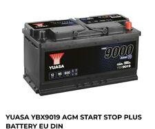 Yuasa YBX9019 Start-Stop PLUS Battery AGM