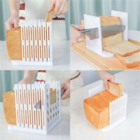 Kitchen Bread Slicer Guide Mold Loaf Toast Cutter Guiding Sandwich Maker Tools
