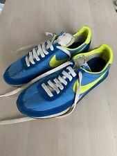 Vintage Nike Elite 1980 Blue Yellow Size 9 Made In Korea