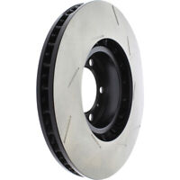 Disc Brake Rotor-OE Type Slotted Brake Disc-Preferred Front Left fits Panamera