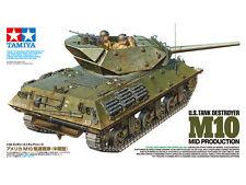 TAMIYA WWII US Tank Destroyer M10 Mid Prod Model Kit 1/35 Scale
