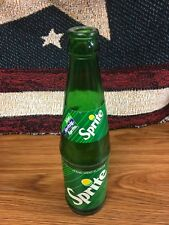 Vintage Old style SPRITE Bottle in GERMAN from the 70's