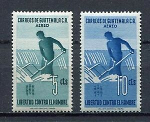36312) Guatemala 1963 MNH Fao Fighting Agaist Hunger 2v