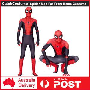 Adults Spiderman Super Hero Cosplay Costume Jumpsuit Suit Halloween Fancy Dress