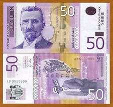 Serbia, 50 Dinara, 2011, P-56a, UNC