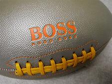 Hugo Boss Designer - Full Size Collectible Football - Silver, Orange & Yellow