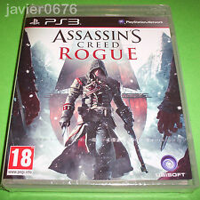 ASSASSINS CREED ROGUE NUEVO Y PRECINTADO PAL ESPAÑA PLAYSTATION 3 PS3