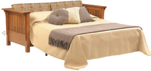 CUSTOM MADE - Mission Arts & Crafts Stickley Style Prairie Spindle SLEEPER SOFA!