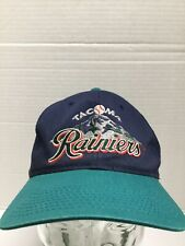 Vtg 90s Tacoma Rainiers Baseball Hat Broke Snap