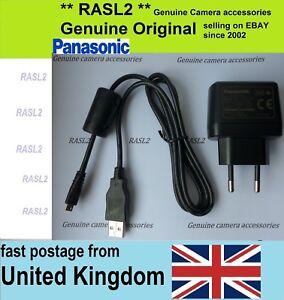 Original Panasonic VSK0772 Charger + USB Cable DMC-TZ60 DMC-TZ61 DMC-LZ40 ZS40