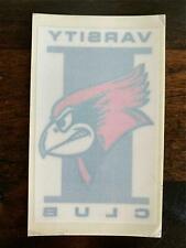 Vintage Iowa State University Decal Bumper Sticker Varsity Club b4