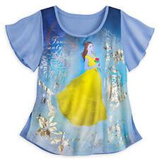 Disney Beauty and The Beast Belle T-Shirt Size L LF089 KK 19