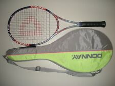 DONNAY PRO ONE LTD OS 107 TENNIS RACQUET 4 1/2 (NEW STRINGS)
