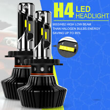 CREE H4 HB2 9003 60W 9000LM LED Headlight Kit High Low Beam Power Bulbs Off road
