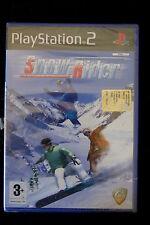 PS2 : SNOW RIDER - Nuovo, sigillato ! Da Phoenix Games !