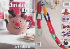 Christmas Knits Two Knitting Book King Cole Patterns Double Knitting