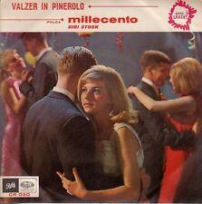 disco 45 GIRI Gigi STOCK MILLECENTO - VALZER IN PINEROLO