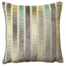 Cotton Blend Striped Contemporary Decorative Cushions