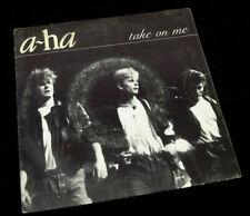 Vinyle 45 tours  a-ha  Take on me  (1985)