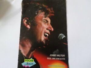 """Fiche chanson Tele poche JOHNNY HALLYDAY """"Diego libre dans sa tete"""" 1981"""