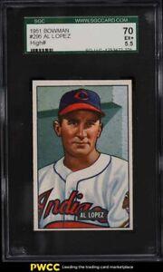 1951 Bowman Al Lopez #295 SGC 5.5 EX+