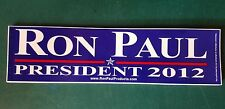 RON PAUL ☆ PRESIDENT 2012 bumper sticker