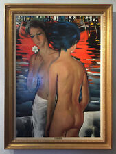 Jesus Casaus Nudes in the Harbor von Wally Findlay Galleries
