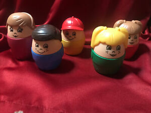 Vintage Chunky Little People By The 2 Step Company