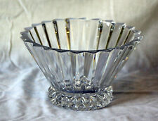 Rosenthal Classic 24% Lead Crystal Bowl Blossom Pattern No Flaws