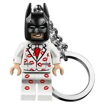 Batman Lego Mini Key Chain Ring Figure Kiss Tuxedo Bag Clip On Kids Gift