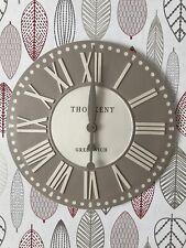 """Thomas Kent 20"""" Parisian Truffle analogue Wall Clock with Roman Numerals"""