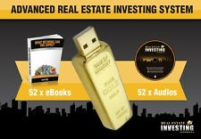 REAL ESTATE INVESTING EDUCATION / COURSE  WEALTH (GOLD USB-Value $2,990)