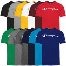 Champion Crewneck Men T-Shirt Herren Kurzarm Sport Shirt Short Sleeve Tee 214142