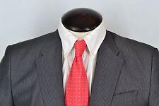 Miu Miu Gray Pinstriped Cotton Mohair Blend 2 PC Suit Sz 40 EUC Made Italy