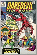 DAREDEVIL (1964) #73 / IRON MAN & NICK FURY APPERANCE / SEVERIN COVER /  8.0 VF