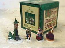 "Dept 56 Heritage Village Collection ""Two Turtle Doves"" Handpainted Porcelain Acc"