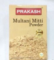Prakash Multani Mitti Fuller's Earth Powder Organic 100 gm Each FREE SHIP
