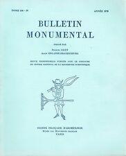BULLETIN MONUMENTAL TOME136 -IV - ARCS BOUTANTS - PIERRE BULLET CHÂTEAU FRAISSE