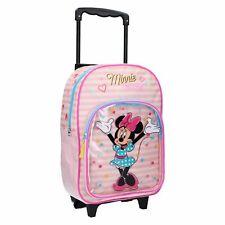 Disney Minnie Mouse Trolley Koffer Kinderkoffer Rucksack Reisekoffer Tasche Pink