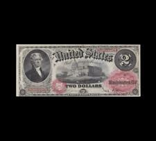SPECTACULAR 1878 $2 LEGAL TENDER CHOICE UNCIRCULATED CONDITION