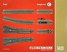 "Fleischmann 6191 H0 - Profi- Gleis Rangier- Set "" C "" NEU & OVP"