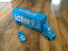 Disney Pixar Cars HAULER DINOCO Mack Super Truck Drop & Jump Playset bundle