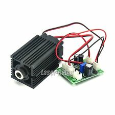 532nm 50mw-80mw 12V Focusable Green Dot Laser Diode Module w/ Fan & Driver TTL