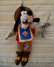 Disney Store Exclusive Goofy Musketeers Plush Stuffed Animal